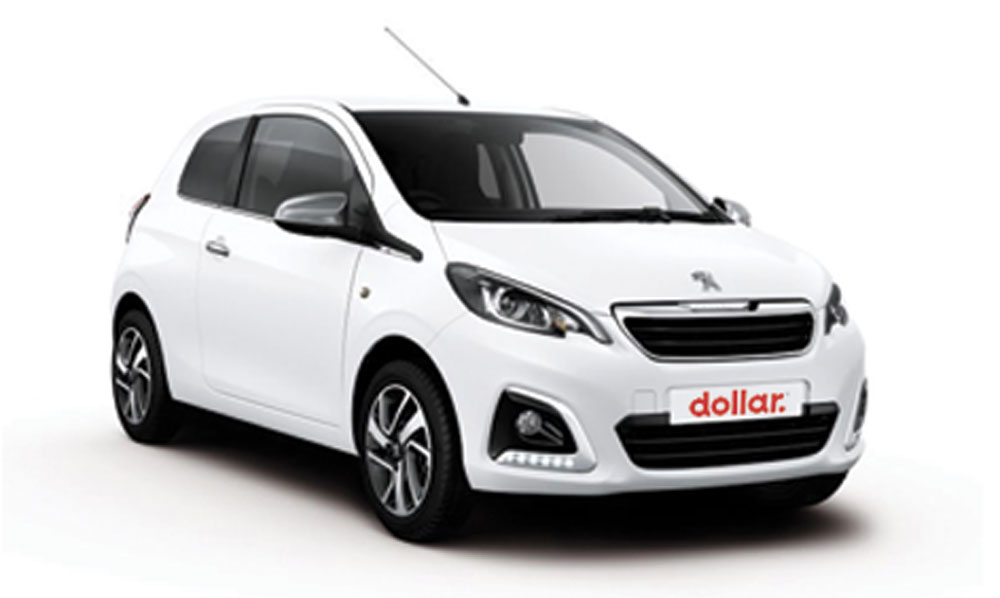 thrifty location voiture 3 Peugeot 108