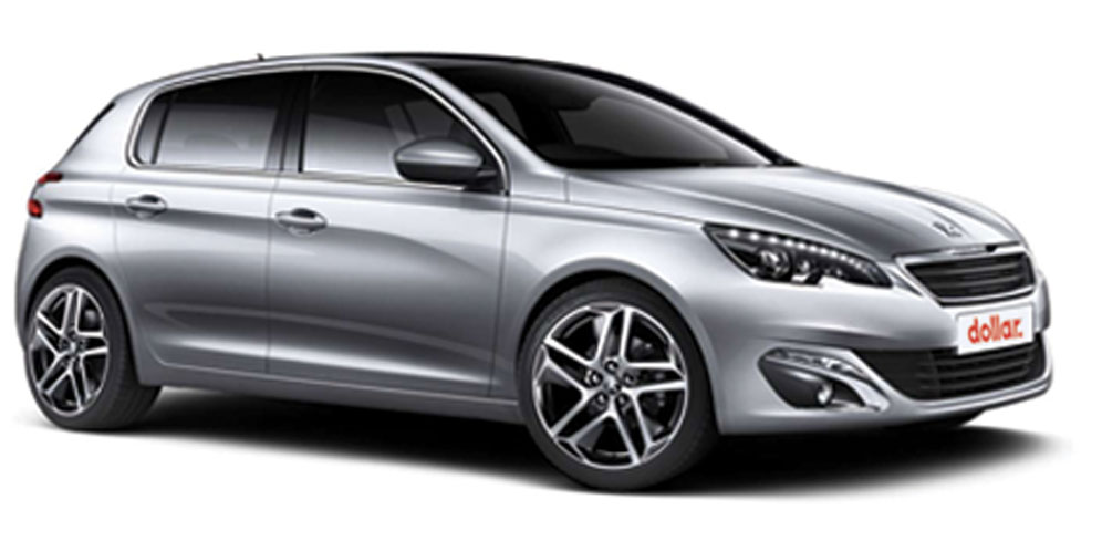 Location 3 Peugeot 308