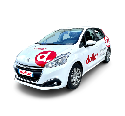 Location 1 Peugeot 208 (publicitaire)