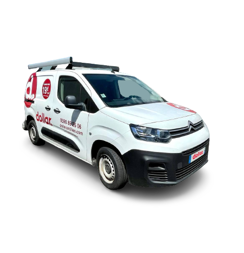 Location 1 Citroën Berlingo 3m3 (publicitaire)