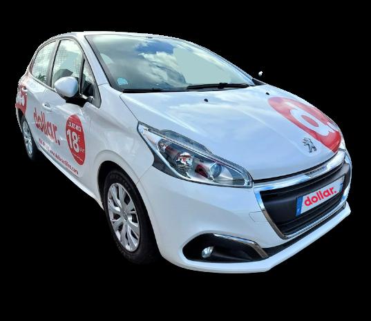 Location 2 Peugeot 208 (publicitaire)