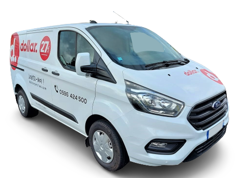 Location 2 Ford Custom (publicitaire)